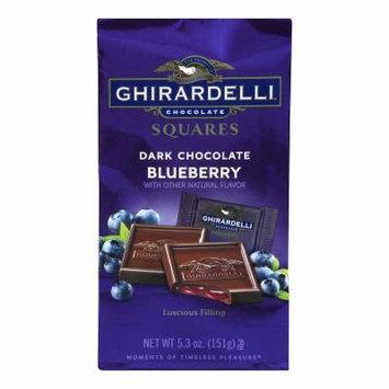 Ghirardelli Dark Chocolate Blueberry Squares - 5.3oz - 3 Pack