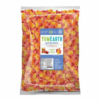 YumEarth Gummy Bears - 5 lb