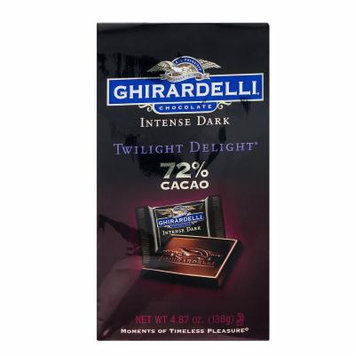 Ghirardelli Chocolate Intense Dark Twilight Delight 72% Cacao - 4.87 oz - 3 Pack