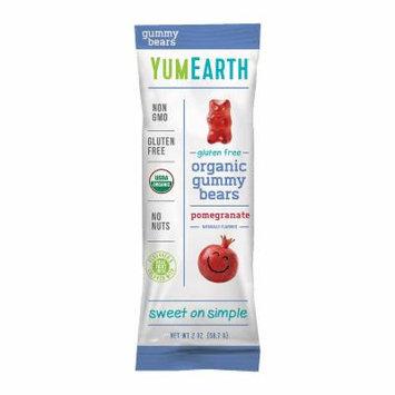 YumEarth Pomegranate Pucker Gummy Bears - 2 oz - 12 Count