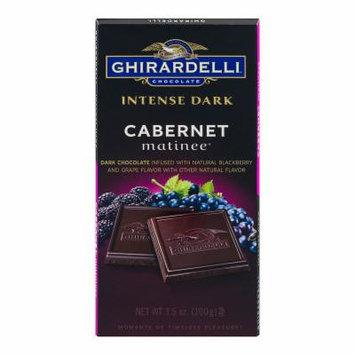 Ghirardelli Intense Dark Chocolate Cabernet Matinee - 3.5 oz - 12 Count