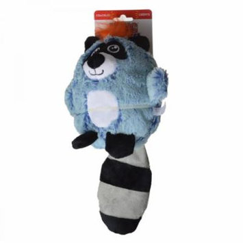 Kong Cruncheez Rascals Dog Toy - Raccoon Large - 1 Pack - Pack of 10