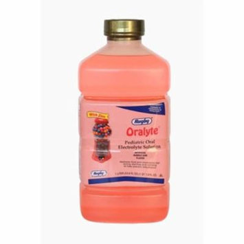 RUGBY ORALYTE SOLN-BUBBLE GUM CHLORIDE ION-35 MEQ/L Pink 1L UPC 305360936861
