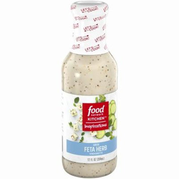 Food Network Kitchen™ Inspirations Greek Feta Herb Vinaigrette 12 fl. oz. Bottle