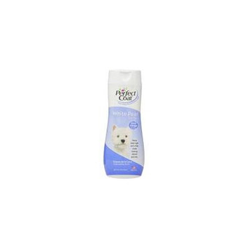 Perfect Coat White Pearl Shampoo & Conditioner 16 oz - Pack of 2
