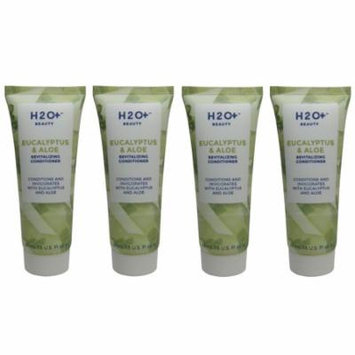 H2O Plus Eucalyptus & Aloe Conditioner lot of 4 each 1.5oz bottles. Total of 6oz