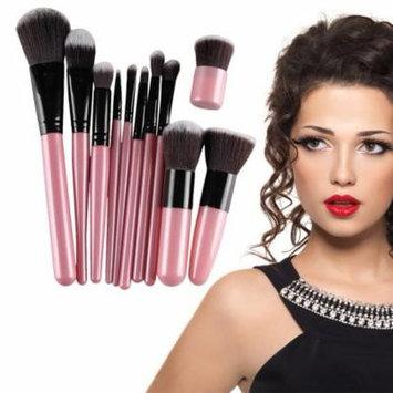 OCDAY 11 Pcs Professional Makeup Brushes Foundation Soft Cosmetic Bamboo Set
