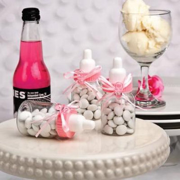 300 Perfectly Plain CollectionPink Baby Bottle Favors