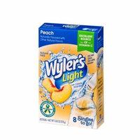 Wyler's Light Drink Mix Singles To Go! Peach, Sugar Free, 8-ct box