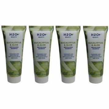 H2O Plus Eucalyptus & Aloe Shampoo lot of 4 each 1.5oz bottles. Total of 6oz