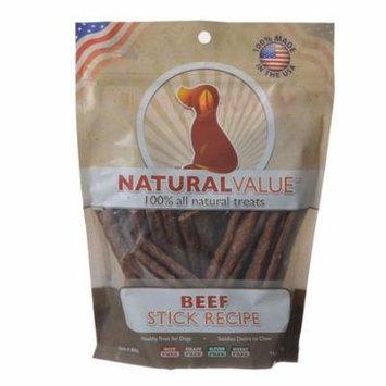 Loving Pets Natural Value Beef Sticks 14 oz - Pack of 3