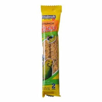 VitaKraft Sesame & Banana Sticks for Parakeets 2.11 oz (2 Pack) - Pack of 10