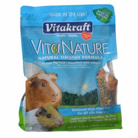 VitaKraft vtia Nature Guinea Pig Food - Natural Timothy Formula 2.75 lbs - Pack of 3