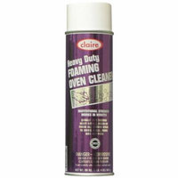 Claire 824 20 Oz. Heavy Duty Foaming Oven Cleaner Aerosol Can, 12-Pack