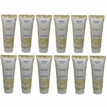 H2O Plus Sea Salt Shampoo & Conditioner lot of 12 (6 of each) 1.5oz bottles.