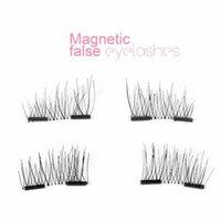 CBD New Handmade Double Magnetic False Eyelashes Black 2 Pairs