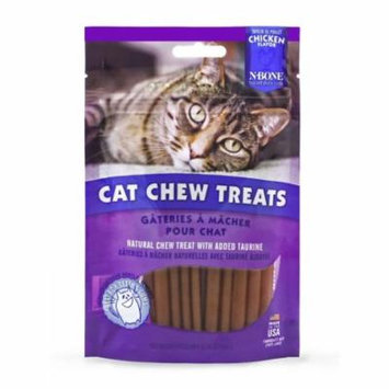 N-Bone Cat Chew Treats Chicken Flavor 3.74 oz - Pack of 2