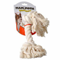 Flossy Chews Rope Bone - White X-Large (16 Long) - Pack of 6