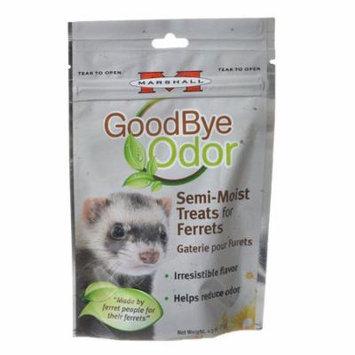 Marshall Goodbye Odor Semi-Moist Treats for Ferrets 2.5 oz - Pack of 3