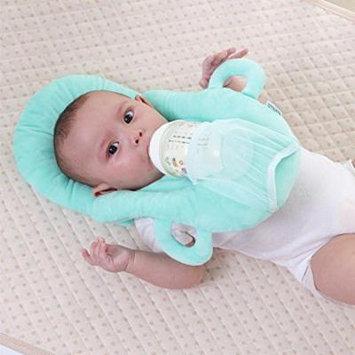 Jeobest 1PC Baby Self Feeding Pillow - Baby Pillow for Feeding - Baby Feeding Pillow - Baby Portable Feeding Pillows Self Feeding Bottle Support Newborn Detachable Feeding Pillow MZ(Green)