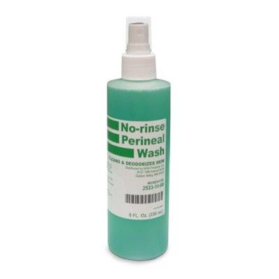 McKesson Brand MSA No-Rinse Perineal Wash - 53-28133CS - 8 oz., 48 Each / Case