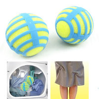 Atb-h-antib2-mo 2 Anti Static Laundry Balls Tumble Dryer Cleaning Clothes Natural ReusableTV