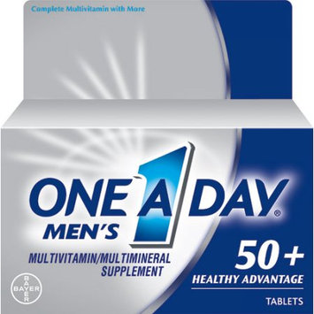 Bayer One A Day Multivitamin Supplement Tablets for Men Above 50 - 65 Count