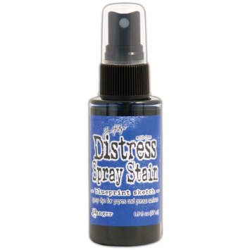Ranger Tim Holtz Distress Spray Stains 1.9Oz Bottles-July-Blueprint Sketch