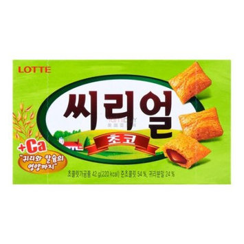 LOTTE CEREAL CHOCO Chocolate biscuit 42g