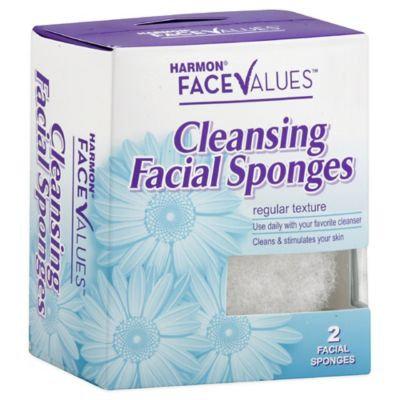 Harmon Face Values Facial Buff Regular 2 Count