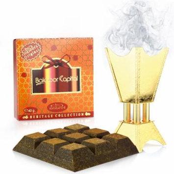 Bakhoor Capital (40gm) Incense by Nabeel Perfumes- 6 pack