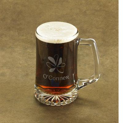 Personalized Shamrock 25 oz. Sports Mug