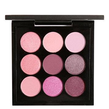 Eye Shadow HP95(TM) Colors 9 Charming Retro Smoky Eye Shadow Makeup Palette Kit (E)