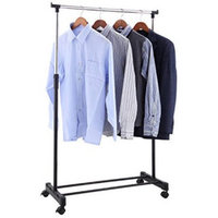 ALEKO RAIL63 Deluxe Garment Rack Clothes Rack Space Saver