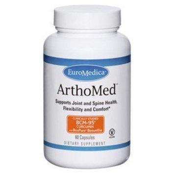 Euromedica Arthomed Vegicaps, 60 Count