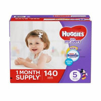 Huggies Little Movers Diapers (Size 5, 140 ct.)