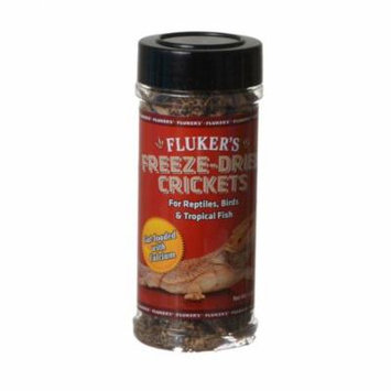 Flukers Freeze-Dried Crickets 1.2 oz - Pack of 4