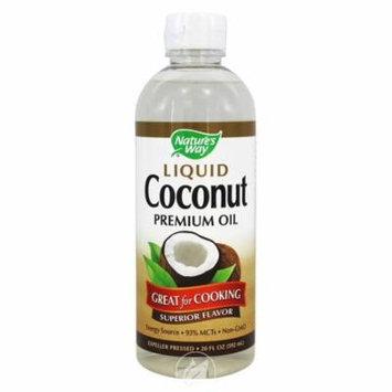 Nature's Way® Liquid Coconut Premium Oil