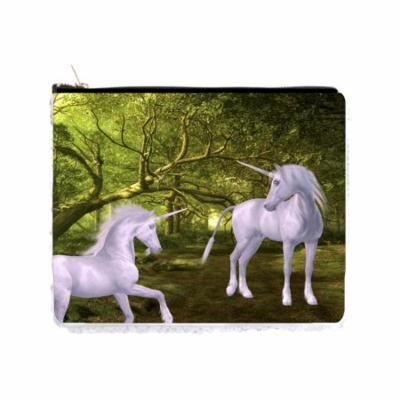 White Unicorns in the Forest - Double Sided 6.5