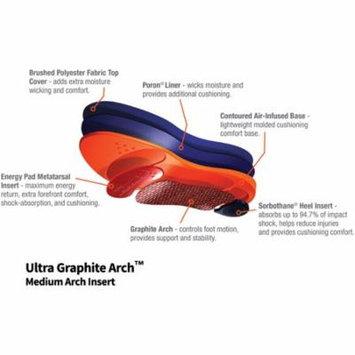 Sorbothane Ultra Graphite Medium Arch Insole B
