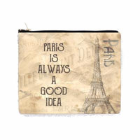 Paris is Always a Good Idea - Eiffel Tower - Vintage Style Design - 2 Sided 6.5