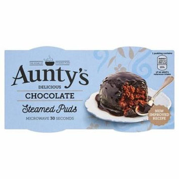 Aunty's Chocolate Steamed Puddings 2 X 95G (Pack of 2)
