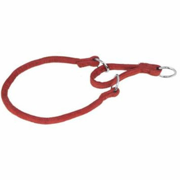 18 ft. L x 0.33 W in. Comfort Microfiber Round Martingale Collar, Red
