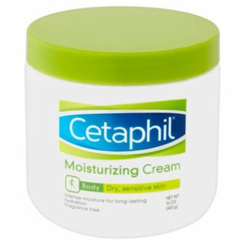 Cetaphil Body Dry Sensitive Skin Moisturizing Cream, 16 Oz.
