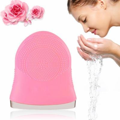 Women Silicone Facial Scrub Brush Wash Dirt Remover Deep Clean Cleanser