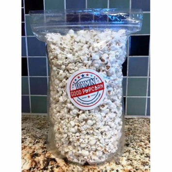 Gourmet White Cheddar Popcorn 8 oz Bag Damn Good Popcorn