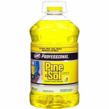 Pine-Sol Professional Multi-Surface Cleaner, Lemon Fresh, 144 oz
