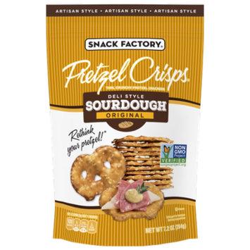 Snack Factory Pretzel Crisps, Sourdough, 7.2 Oz, 12 Ct