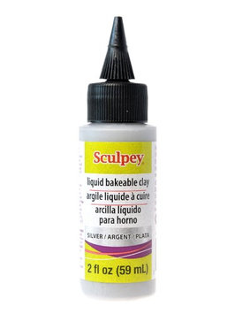 Sculpey Liquid silver, 2 oz. bottle [pack of 2]