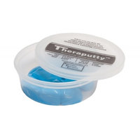 CanDo Theraputty Standard Exercise Putty, Blue Firm, 4 oz.-1 Each